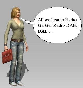 DAB Radio är Radio Ga Ga