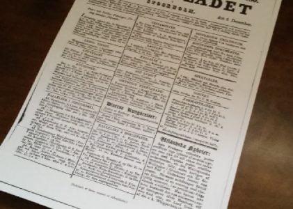 Ur Hiertas självbiografi – Om falska nyheter på 1800-talet