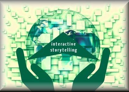 interaktiva berättelser och appar för varumärke