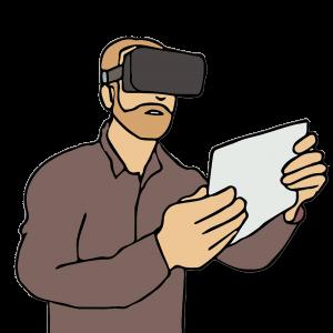 Virtual Reality med ögonspårning för att studera det mänskliga sinnet